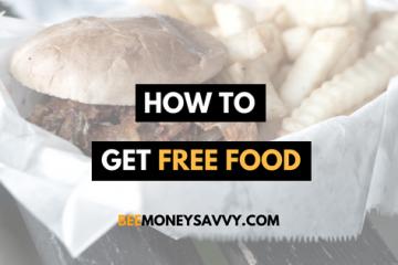 get free food