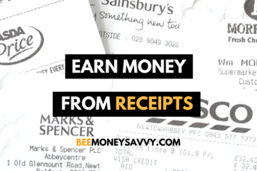 Earn money with receipts