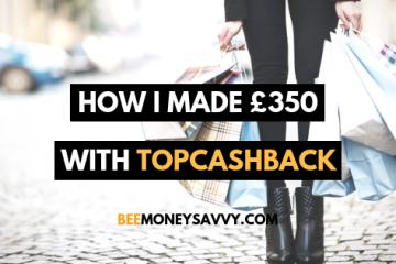 Earn money with topcashback