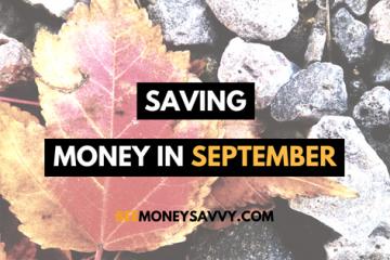 September money saving