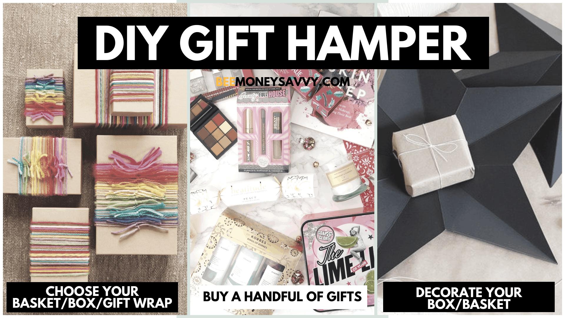 DIY gift hamper